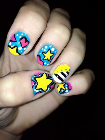 """Nicki Minaj Nails"" in my nails..AndreaB"