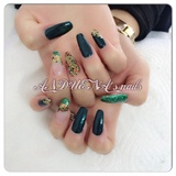 Dark#green#mix#💅
