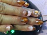 Amber nail