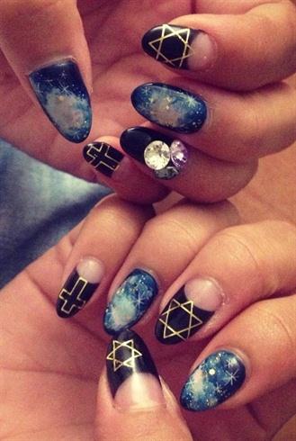 galaxy nail  nail art gallery