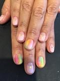 Rainbow Nail