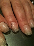 nail forms glitter nails