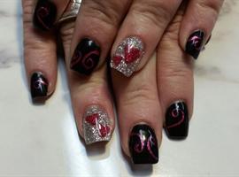 nail art: Dear Dianne