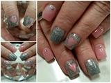Shades of grey n pink