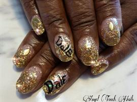 nail art: Royalty