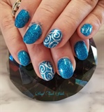Swirly Blue