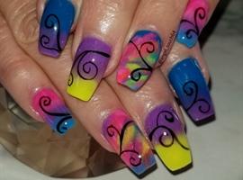 nail art: Whacky Whimsy