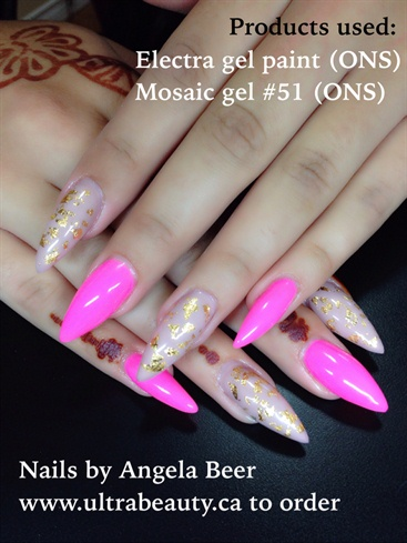 Pink And Nude Gel