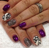 Purple & Lace