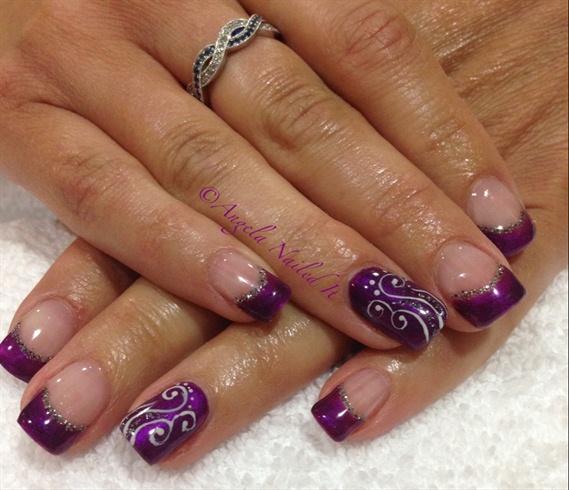 Purple & Swirls