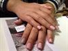Soft Pink Dot Nails