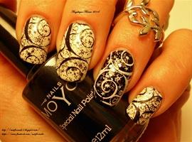 nail art: New Year's Eve Nails