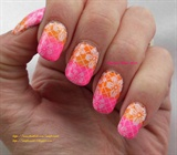 Tropical Neon Floral
