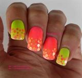 Simple neon dots