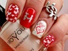 Classic Red and White Valentine