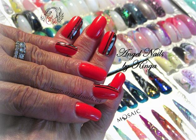 Red & Foils