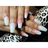 Ombre Nails.