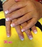SNS French Manicure