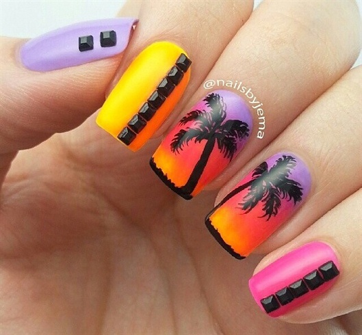 Summer nail Art by Angelzbeauty from Nail Art Gallery