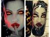 Halloween inspired vampire girl