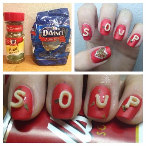 Tomato Soup Nails
