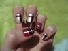 Red, black and pearl tartan