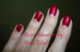 Retro Manicure (Moon manicure)