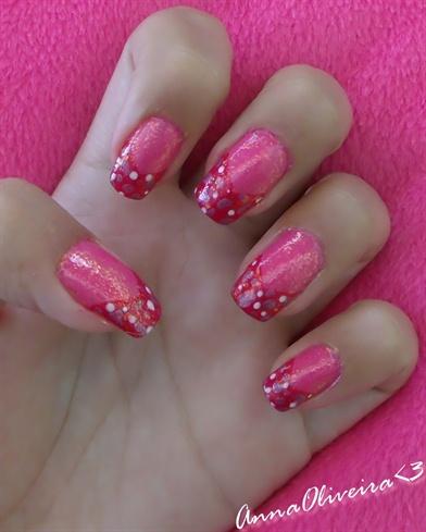 Glittered Pink