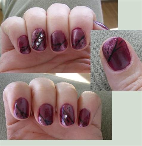 Nailart on natural nails