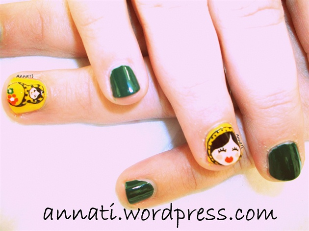 Matrioska Nail art