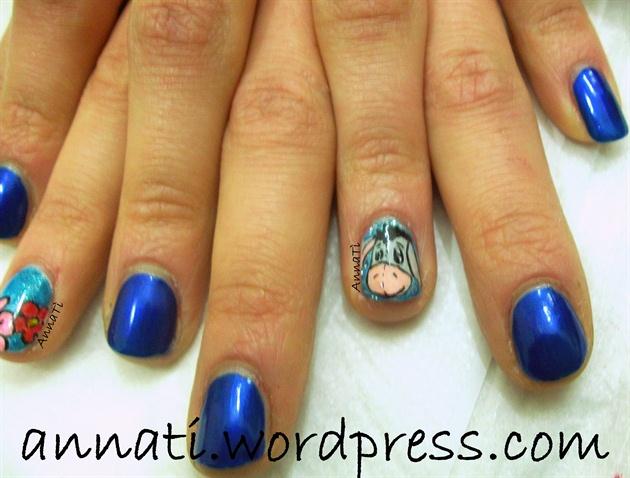 Hi Oh nail art