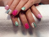 Angel  love gel nails by Anna