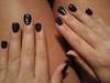 First full set- Matte Black w/diamonds 2