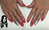 red refill with emi gel color