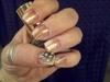 Pose de Plume sur nails tips