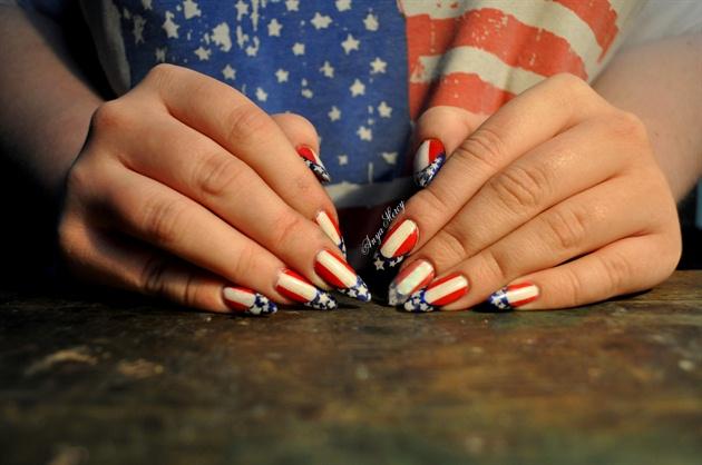 """""""Oh America America, hello!"""""""