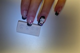 3D acrylic dog nail art