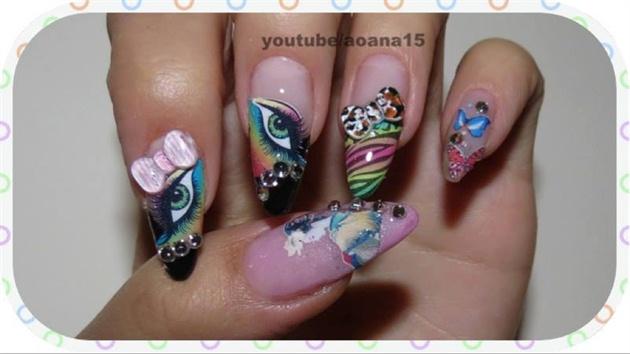 Kawaii Nail Art Design