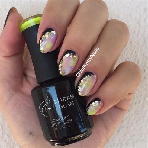 Colorful Gel Nail Art Design
