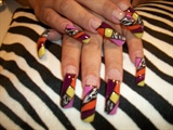My art on Bebys nails