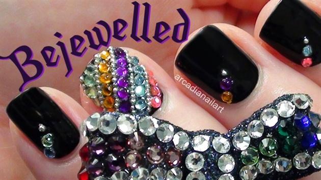 Bejewelled Nail Art