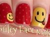Smiley Face Nail Art!