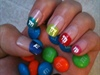m&m nails