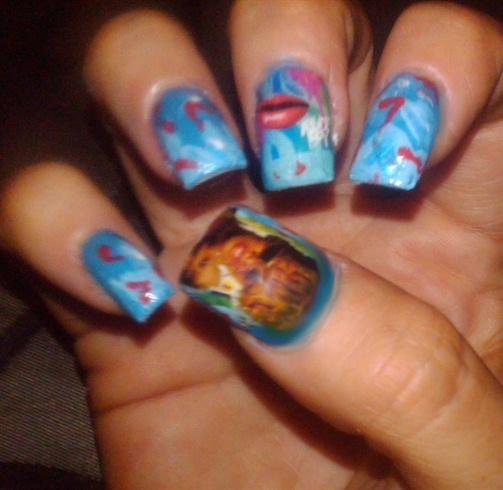 rihanna rudeboy nails