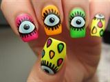 Pop art 3D nails