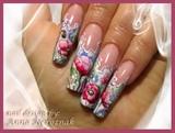Aquarelle  Pink Poppies