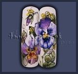 Pure Aquarelle Violets.