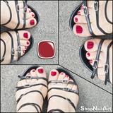 Red Pedicure :)