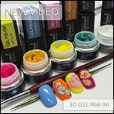 3D Gel Nail Art
