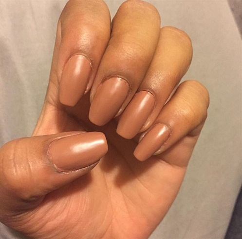 Nude Color Nails